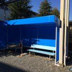 埼玉県小川町でデザインテント張替え工事を行いました。
